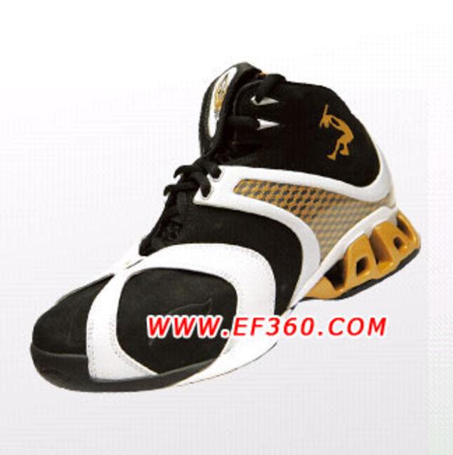 """李宁 运动鞋 个性 设计/李宁SHAQ系列专业比赛鞋//""""君临""""。"""