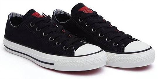 鞋带的系法图解帆布鞋五角星