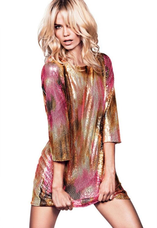 个性 瑞典/本季,瑞典快速消费品牌H&M大手笔找来Sasha Pivovarova、...