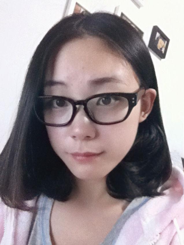 眼镜妹qq头像小孩手绘