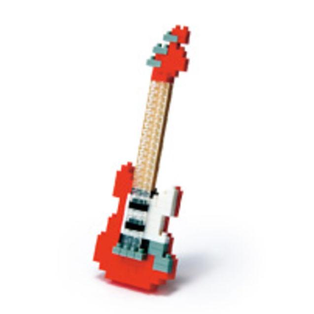 吉他木质模型拼装步骤图