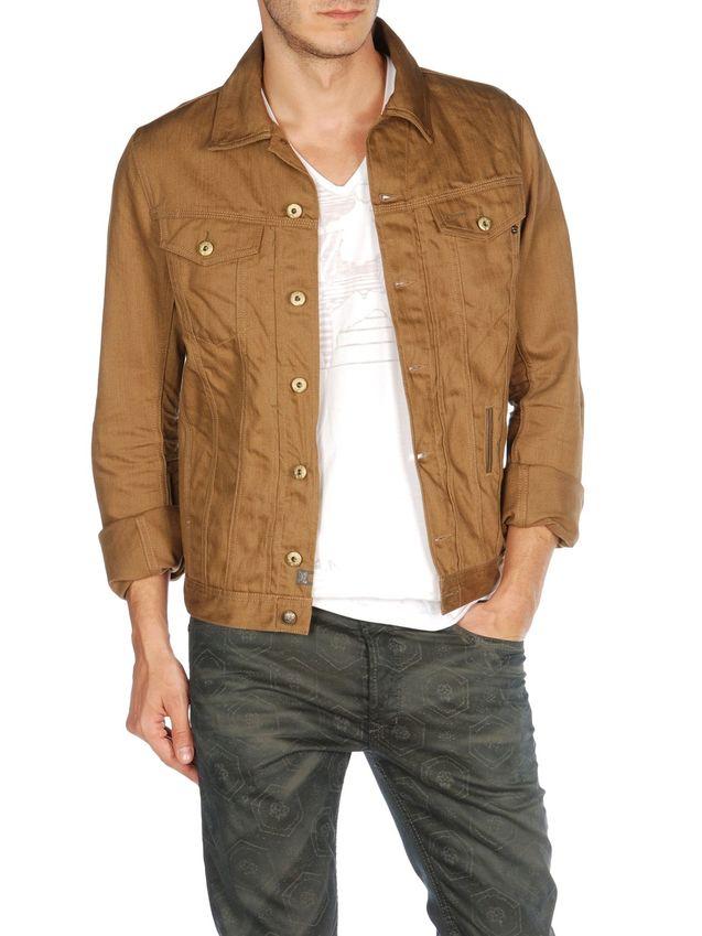 美国 个性 夹克/【美国代购】正品 迪赛 Diesel ELSHAR 修身牛仔夹克2色