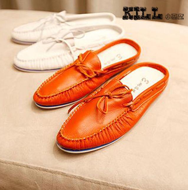 个性 街拍/【KILL】软!日系韩版复古牛皮鞋尖头休闲流行男鞋