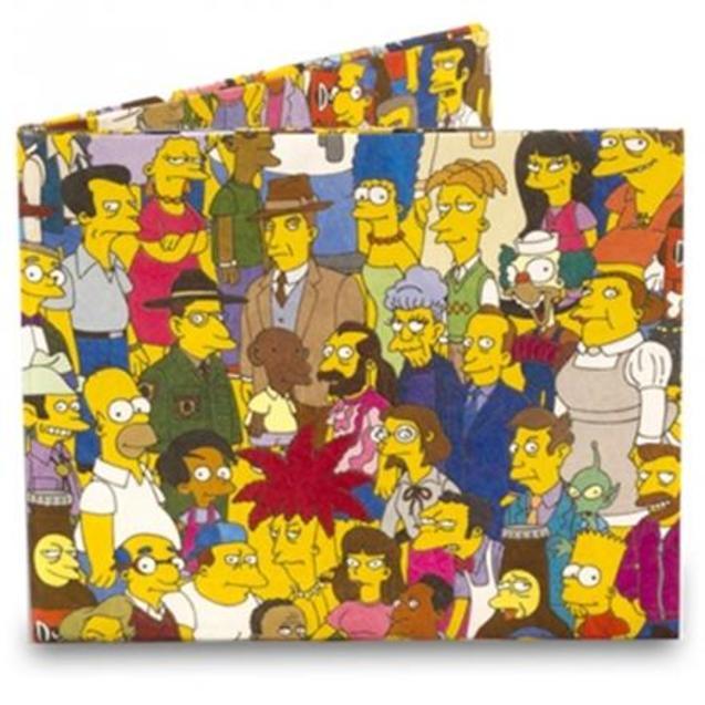 卡通 辛普森/有爱的辛普森一家卡通钱包,用的人一定很有爱