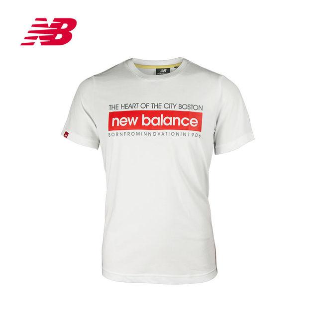 个性 短袖/New Balance/新百伦公司男衣圆领短袖T恤NE361041包邮