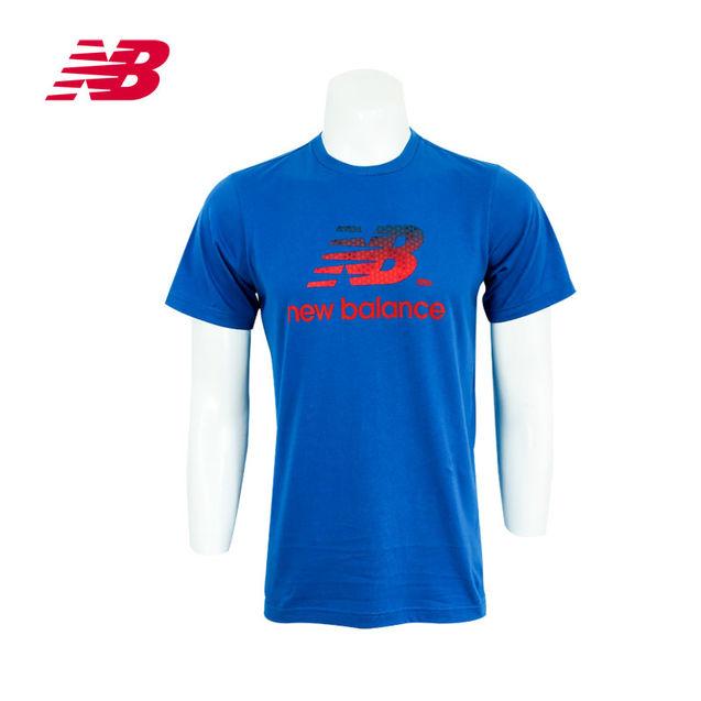 个性 短袖/New Balance/新百伦公司男衣圆领短袖T恤AMST3208包邮2013...