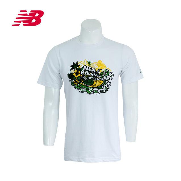 个性 短袖/New Balance/新百伦公司男衣短袖T恤AMST3204包邮2013新款