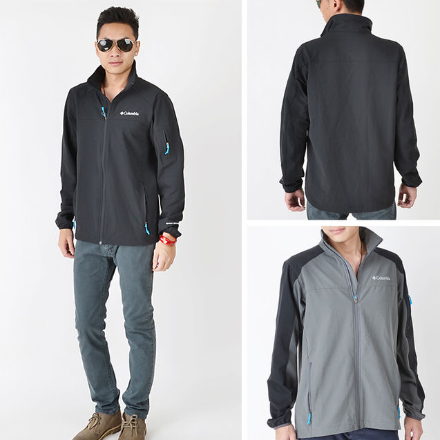 男士 北极星/美国代购 Columbia/哥伦比亚 男透气户外夹克外套WM6000
