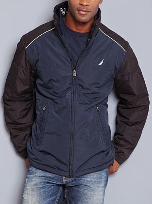 男士 新款 夹克/美国NAUTICA 诺帝卡男士休闲外套新款正品夹克内部抓绒夹克...