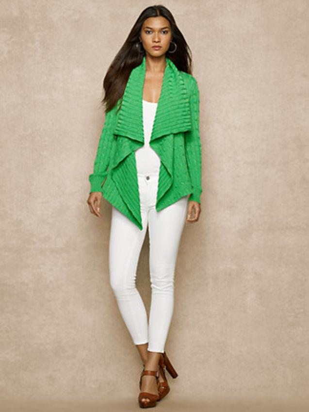 拉尔夫/美国代购拉尔夫劳伦官网正品11月女士毛衣外套开衫2色