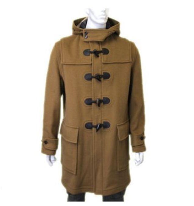 日本 大衣/日本代购直邮BURBERRY巴宝利秋冬新款男士羊毛呢大衣外套
