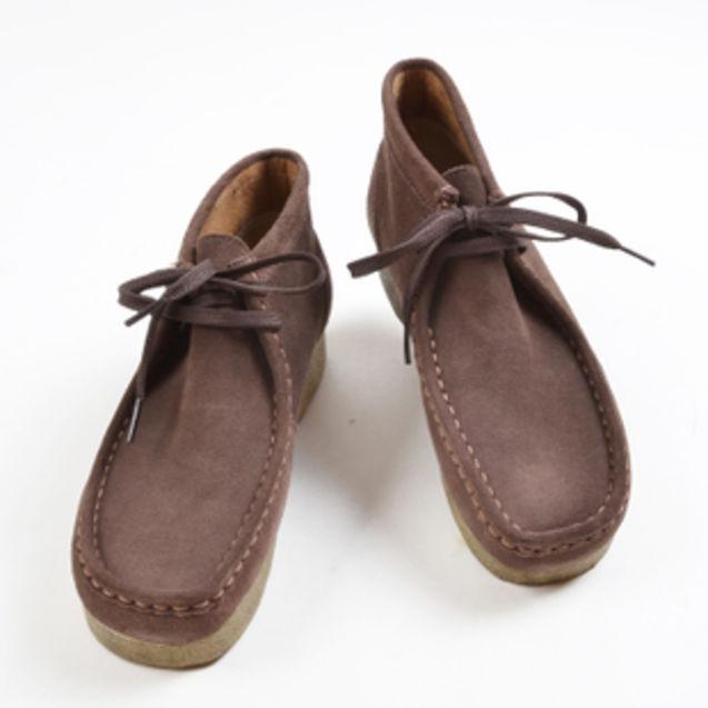 男士 麂皮/美国代购正品Clarks/其乐 帕德莫尔麂皮绒男士系带休闲鞋78732
